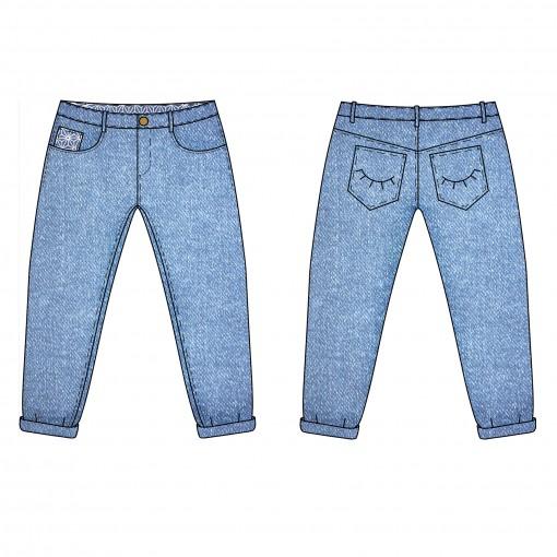 Pop-corn le jeans boyfriend