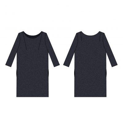 patron de couture femme - robe Iris