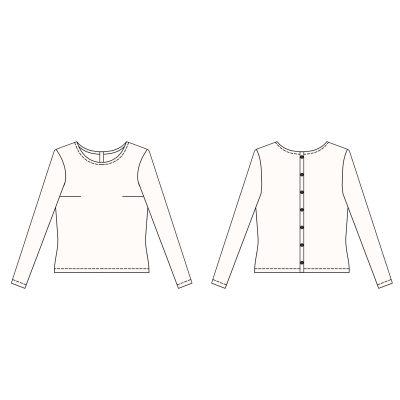 patron couture femme blouse Capucine