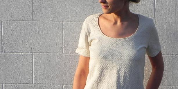 nouveau patron de couture femme : Trèfle – le t-shirt