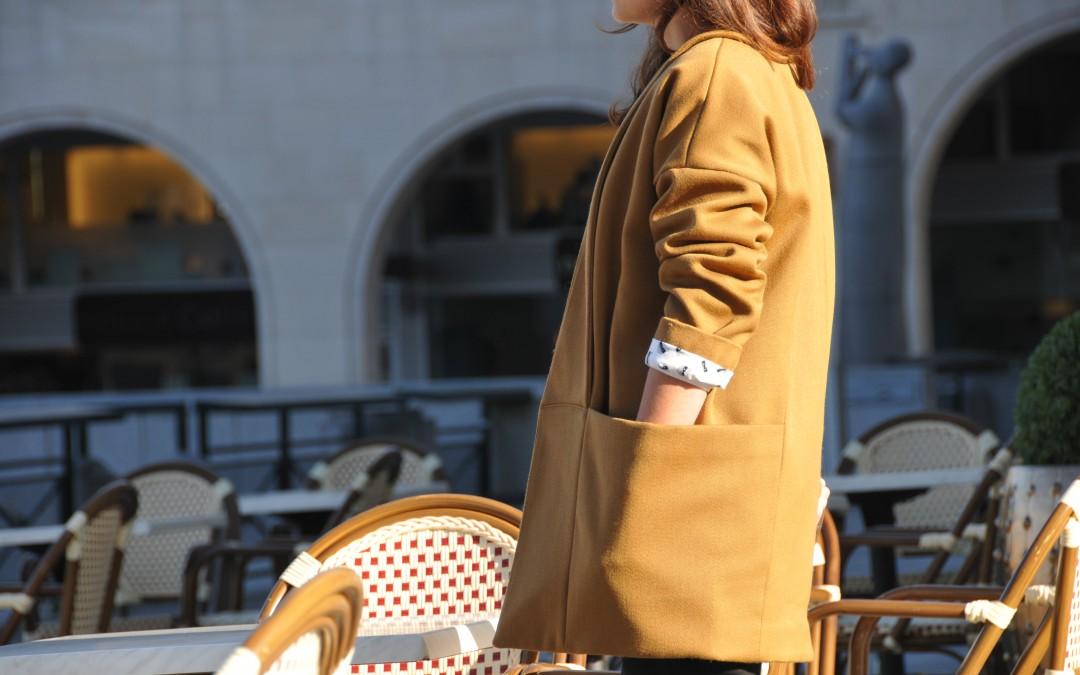 nouveau patron de couture femme: Marumi – le manteau poché