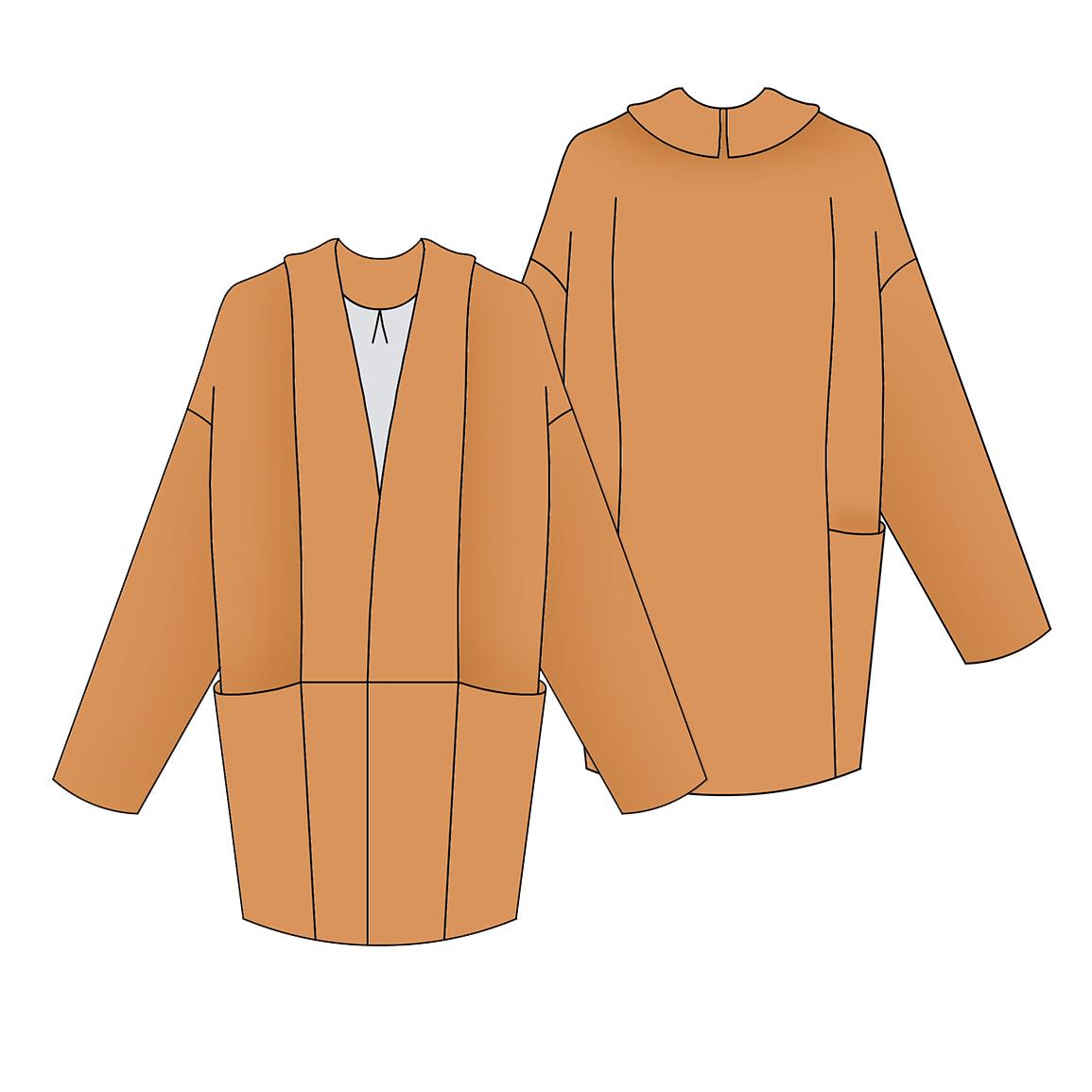 43b49f233 Marumi - le manteau poché