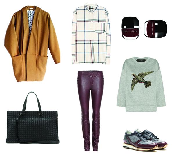 1 manteau – 2 looks