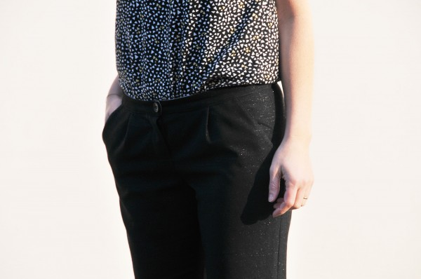 patron couture femme Fusain le pantalon classique