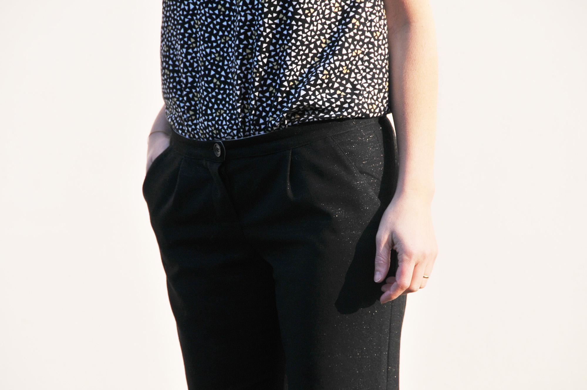 nouveau style fe7d3 dce4a Fusain - le pantalon classique