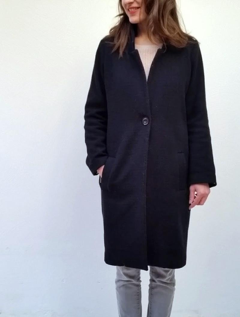 Patron pour manteau femme