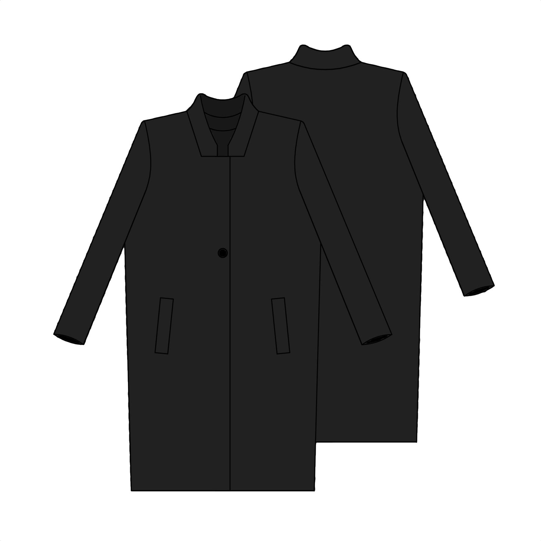 Patron de couture manteau femme gratuit