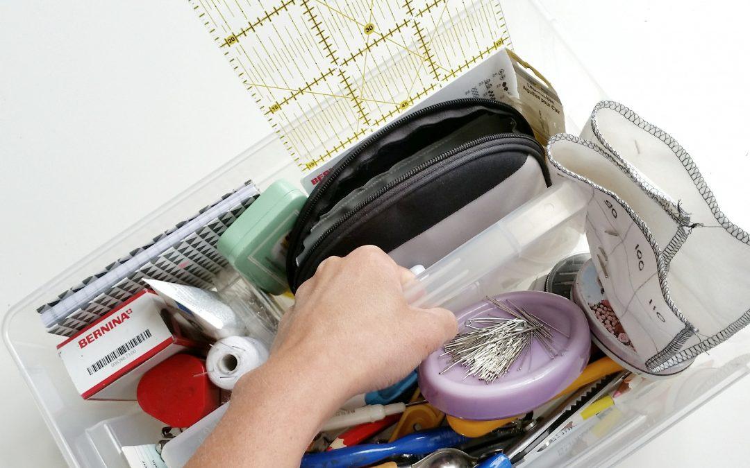 la boîte à outils en couture