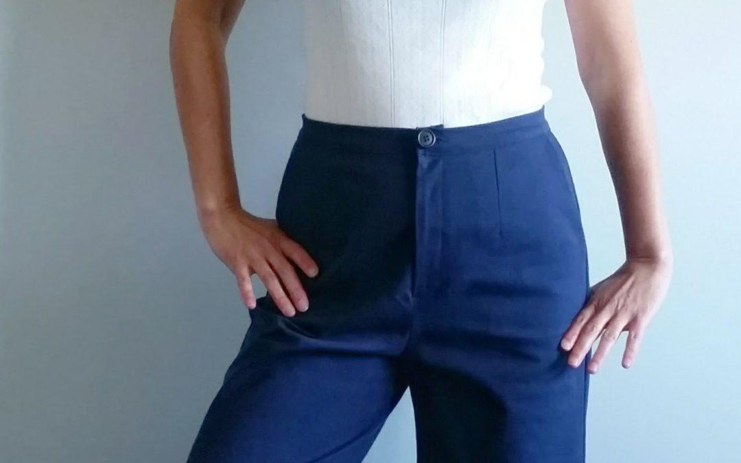 nouveau patron : ROMARIN – le pantalon palazzo